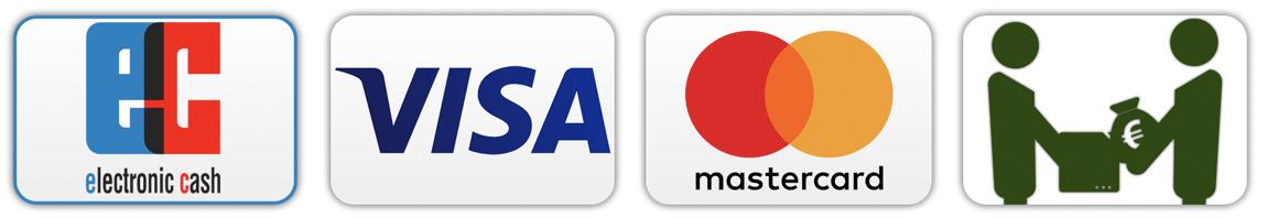 Zahlungsmethoden - AS Sicherheitstechnik